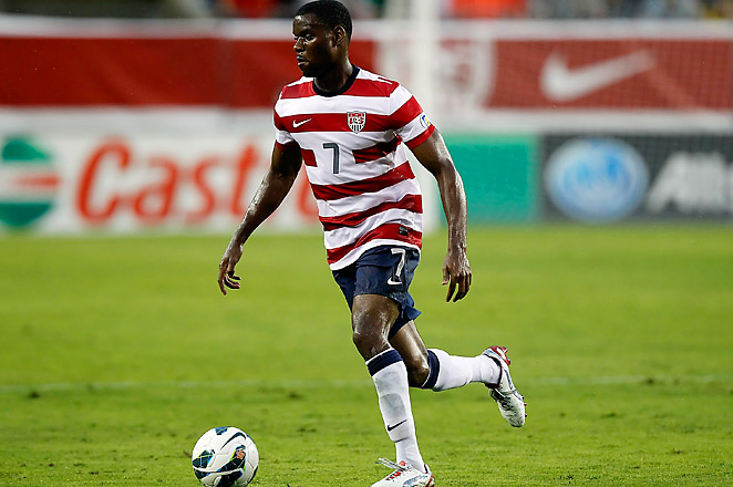 Maurice Edu started at central defense in the U.S.'s friendly win over Mexico in August.