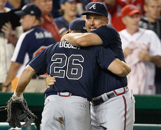 No Chipper and the combination of an ugly platoon (Juan Francisco and Chris Johnson) and Uggla will offset the Upton brothers. Look, it took Bobby Cox managing Greg Maddux, Tom Glavine and John Smoltz to win even one World Series for the Braves, and the last time we checked, Fredi Gonzalez is no Bobby Cox. (SI's Experts Predictions)