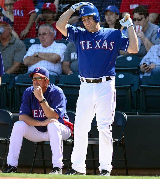 The Rangers coughed up a five-game lead in the AL West with 10 games to play in the 2012 season, then replaced Josh Hamilton and Mike Napoli with the tattered remains of Lance Berkman and a 36-year-old A.J. Pierzynski. (SI's Experts Predictions)