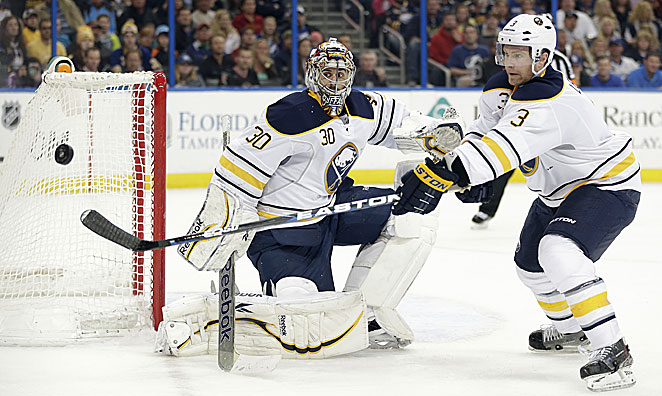 Goalie Ryan Miller has been suffering through the Sabres' thoroughly disappointing season.
