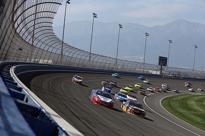 The Auto Club 400 in Fontana, Calif, was likely the young Sprint Cup season's most thrilling race.