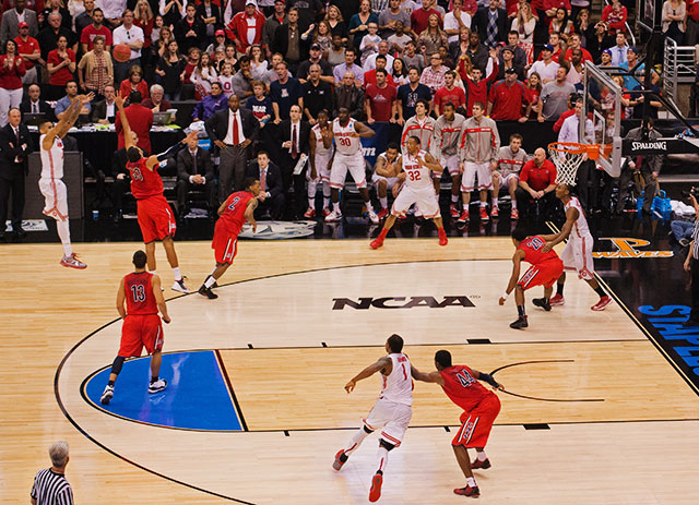 <bold>LaQuinton Ross hit this tiebreaking 3-pointer with two seconds to play to send Ohio State to the West Regional final. The Buckeyes haven't lost since Feb. 17, beating Indiana on the road before winning the Big Ten tournament and now three NCAA tournament games. </bold> <bold>Defeated Iona 95-70</bold> <bold>Defeated Iowa State 78-75</bold> <bold>Defeated Arizona 73-70</bold>