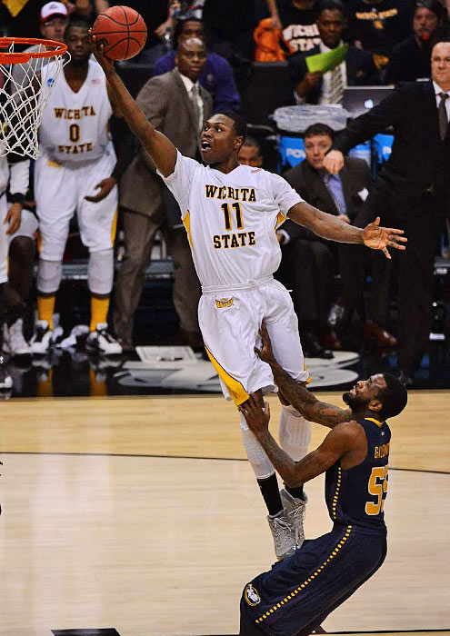 <bold>Cleanthony Early and the Shockers never trailed in this matchup of small schools. Wichita State (29-8) tied the school's 2010-11 NIT Championship team for most wins.</bold> <bold>Defeated Pitt 77-55</bold> <bold>Defeated Gonzaga 76-70</bold> <bold>Defeated La Salle 72-58</bold>