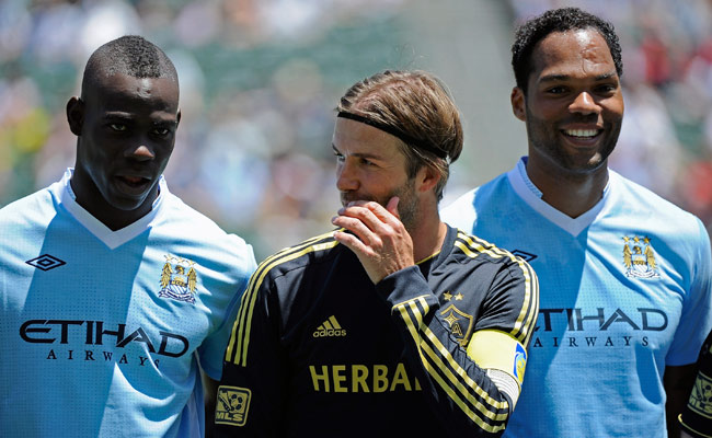Manchester City's last tour of the U.S. in 2011 included a match against the Los Angeles Galaxy.