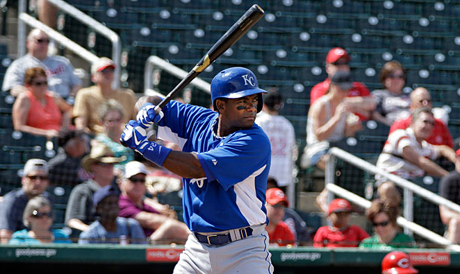 Ned Yost announced that Miguel Tejada has made the Royals' opening-day roster as a utility infielder.