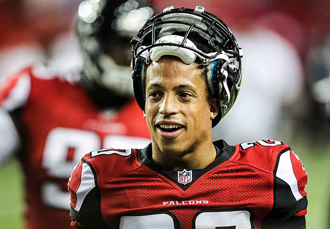 Brent Grimes, who sat out last year with an injury, will vie for a starting job in Miami's secondary.