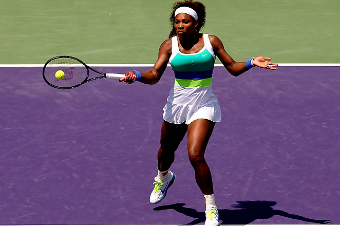 Williams has now defeated Sharapova in eleven consecutive matches.