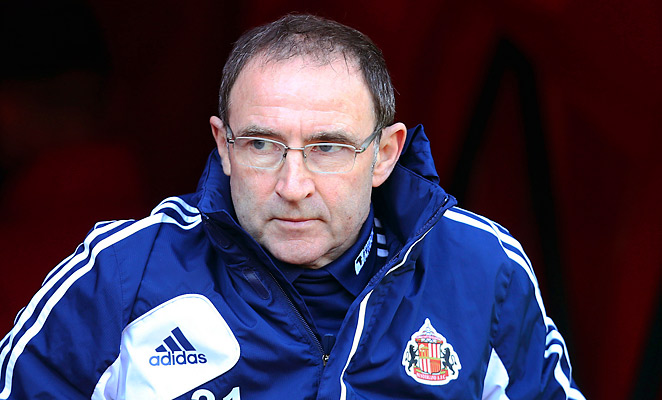 Martin O'Neill was fired today after a mere 15 months in charge of EPL club Sunderland.