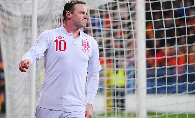 Wayne Rooney and England are in second place in their World Cup qualifying group.
