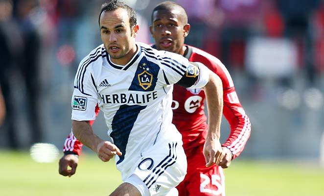 Landon Donovan is hoping to work his way back into form and the national-team picture.