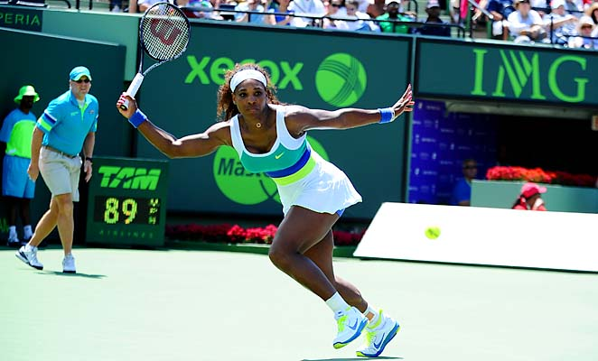 Serena Williams became the oldest No. 1 in WTA history a month ago.