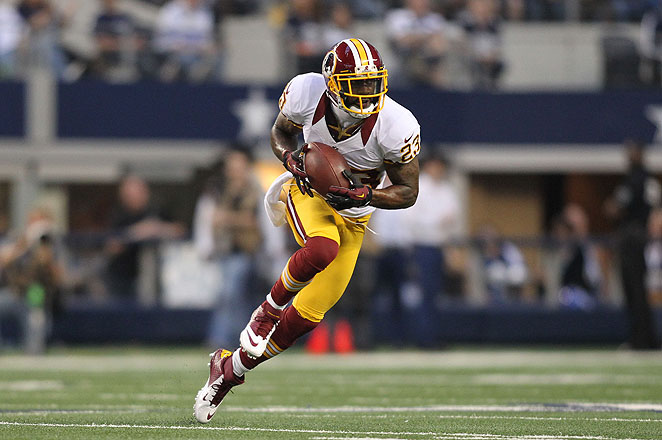 DeAngelo Hall picked off four passes for the Redskins last season, his fifth with the team.