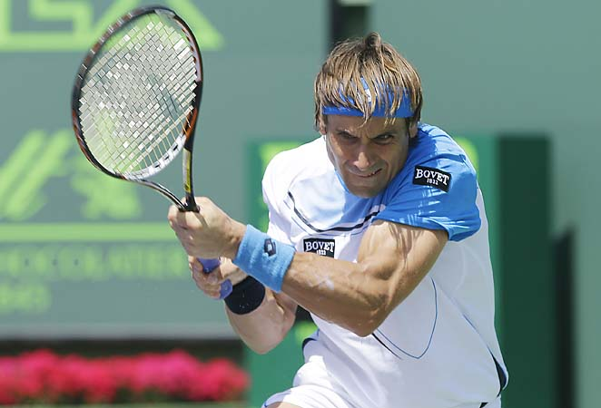 David Ferrer moved back to No. 4 in the rankings with his runner-up effort in Miami.