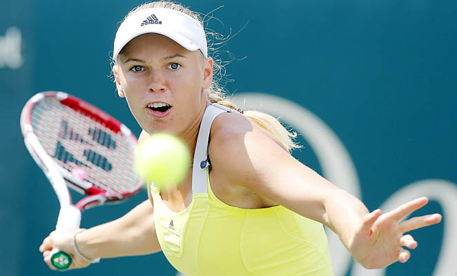 Caroline Wozniacki won the Family Circle Cup in Charleston, S.C., in 2011.