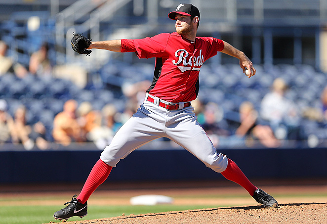 Reds' pitching prospect Tony Cingrani struck out 14 batters in his first Triple-A start of the season.