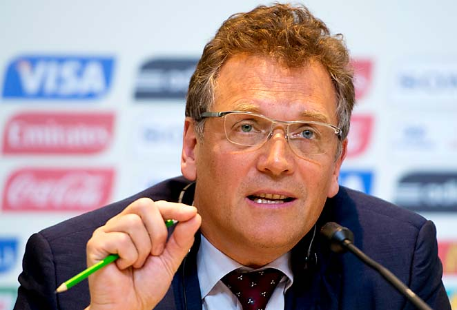 Jerome Valcke said not all operational arrangements will be 100 percent for the Confederations Cup.
