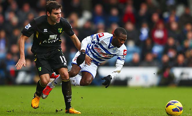 Shaun Wright-Phillips (right) and QPR are in 19th place in the Premier League.