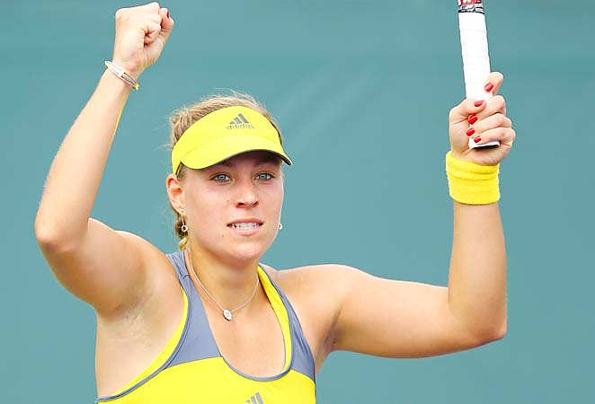 Angelique Kerber is coming off a round-of-32 loss to Sorana Cirstea at the Sony Open.