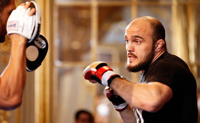 Ilir Latifi, who faces Gegard Mousasi in Saturday's headlining bout, has never fought in the UFC before.