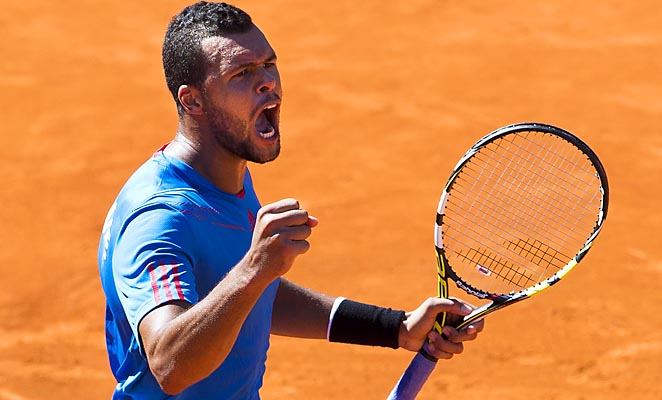 Jo-Wilfried Tsonga is slated to face Juan Monaco in the reverse singles.