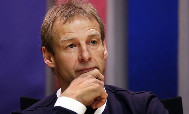 Jurgen Klinsmann and the U.S. are in third place in the Hexagonal after three matches.