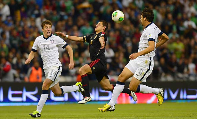 The U.S. drew Mexico 0-0 in World Cup qualifying in Mexico last week.