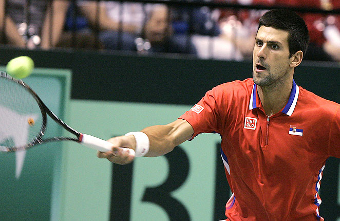Precision carried Djokovic against Isner, as the top player in the world posted just 10 unforced errors.