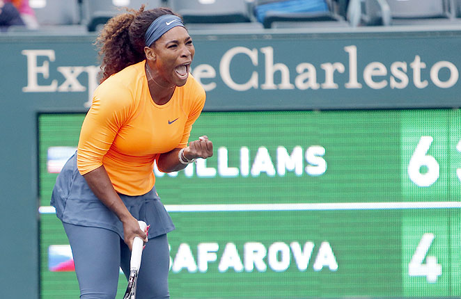 Serena came into the Family Circle Cup as defending champ, but will have to get past her sister to go back-to-back.
