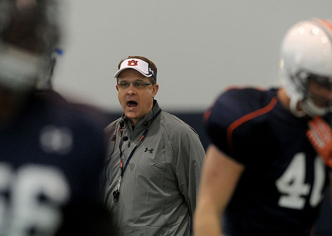 Gus Malzahn's program is dealing with reports alleging multiple NCAA rules violations.