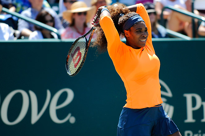 This is Serena's second consecutive Family Circle Cup title, and already her third title win of the year.