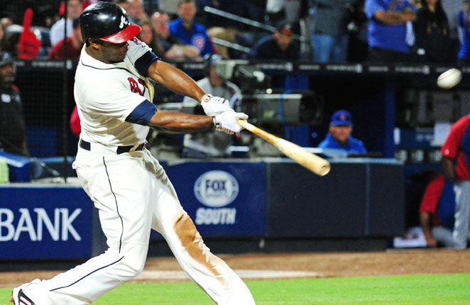 Atlanta's trade for Justin Upton in the offseason has already paid huge early dividends for the Braves.