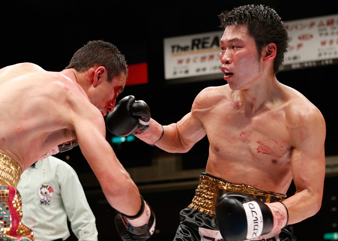 Takashi Miura thrived as the challenger on his home turf and defeated Gamaliel Diaz.