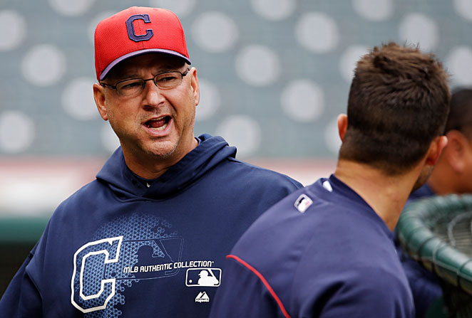 Terry Francona is entering his first season as Cleveland's manager.