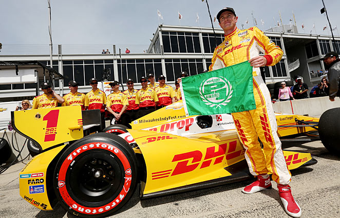 Ryan Hunter-Reay wants to be an ambassador for the embattled IndyCar Series.