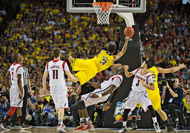 Trey Burke led the Wolverines with 24 points on 7-of-11 shooting.