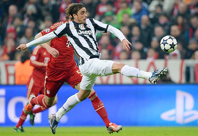 Alessandro Matri and Juventus look to take out Bayern Munich, which just clinched the Bundesliga.