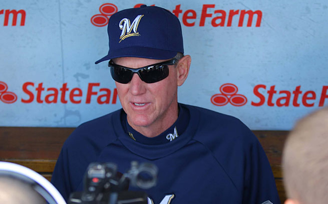 Ron Roenicke is in his third season as Milwaukee's manager.