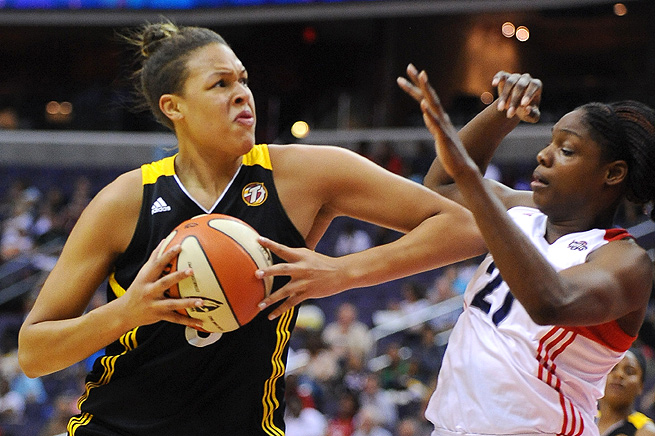 Elizabeth Cambage signed a contract to play in China, and she will not return to the WNBA in 2013.