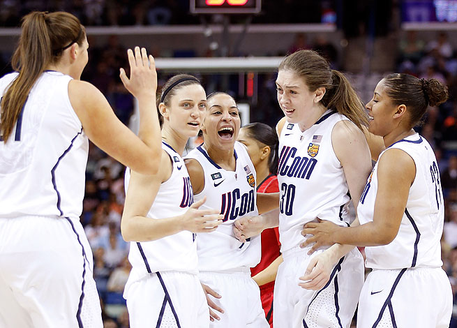 UConn capped a dominant tournament by beating Louisville 93-60 for their eighth national title.