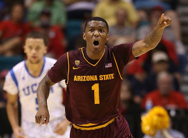 Jahii Carson set school records for points, assists and minutes by freshman this season at ASU.