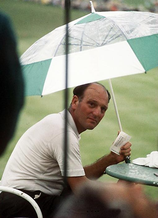 In 1968, Roberto De Vicenzo missed out on a playoff with Bob Goalby when he returned an incorrect scorecard.