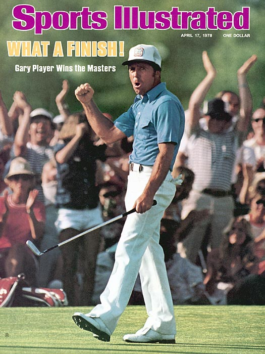 In 1978, Gary Player shot a final-round 64 and came from seven shots back in the final round to win his third Masters.