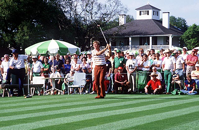 Ben Crenshaw won his first Masters title in 1984. He shot a final-round 68 to beat Tom Watson by two.