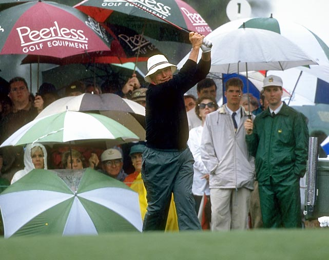 Arnold Palmer still had his army following along in 1995.