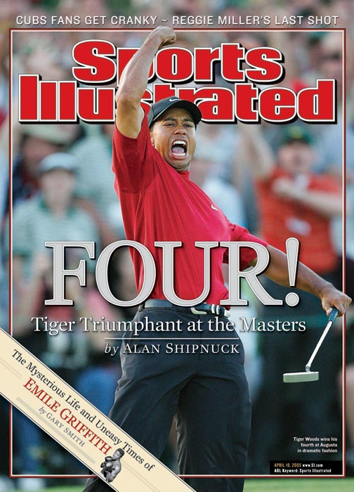 Tiger Woods won his fourth green jacket -- and his ninth major -- at the 2005 Masters.