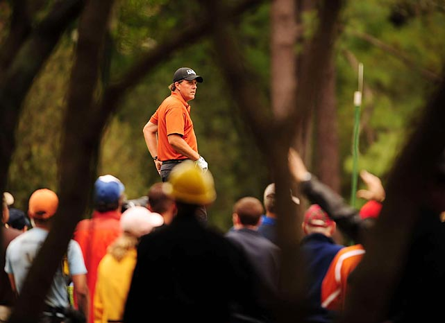 Mickelson finished fifth at the 2008 Masters. Mickelson has finished in the top 10 at the Masters 14 times.