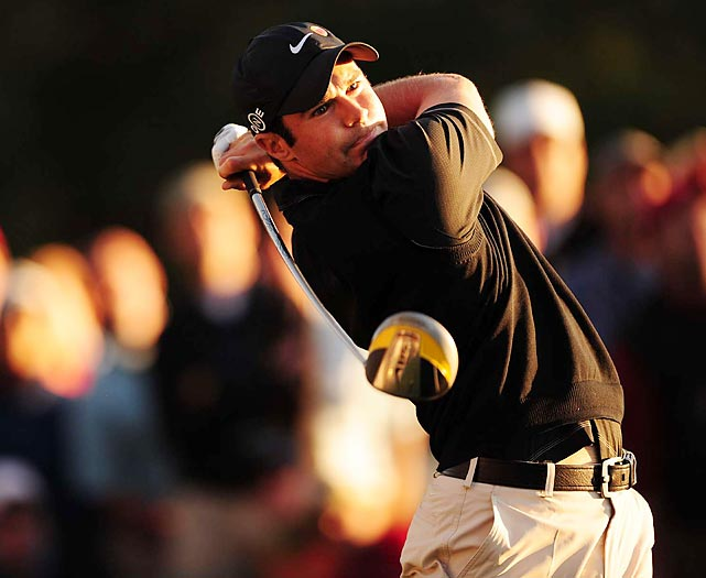 Despite a final-round 75, Trevor Immelman won the 2008 Masters by three strokes over Woods.