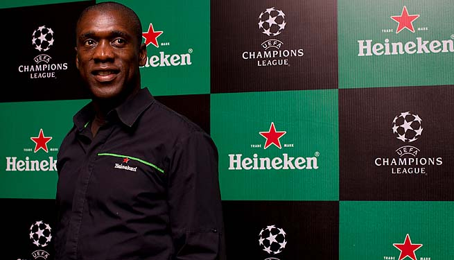 Clarence Seedorf came to Botofogo from AC Milan in 2012.