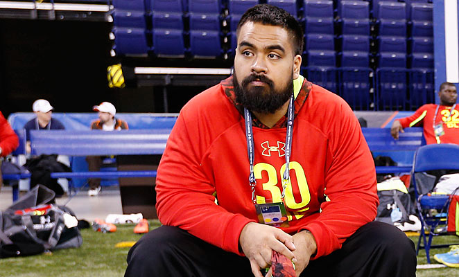 Defensive lineman Star Lotulelei made 42 total tackles with five sacks in 2012 for Utah.