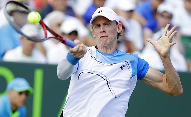 Kevin Anderson of South Africa has risen into the top 30 after finishing 2012 at No. 37.